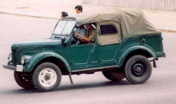 Kaensaeng 68KA, the NorthKorean GAZ 69 jeep
