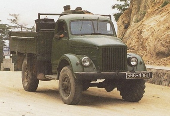Sungri 61, army truck of the 1960s-1970s