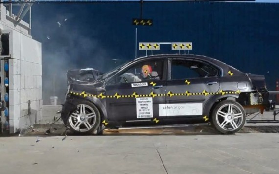Coda crash test NHTSA