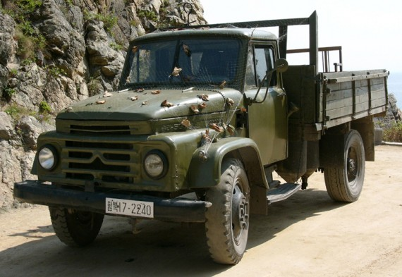 Sungri 58KA, popular North Korean truck